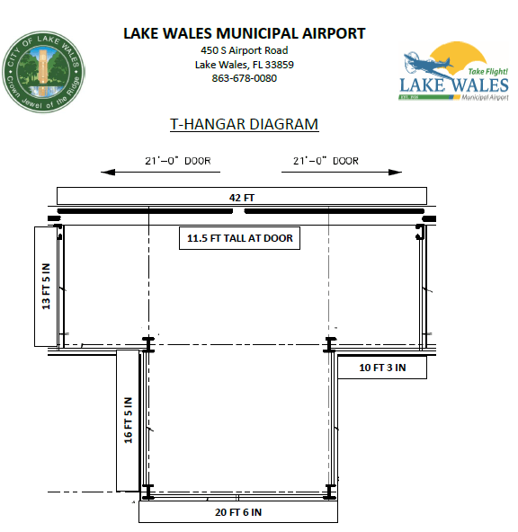 T Hangar Diagram