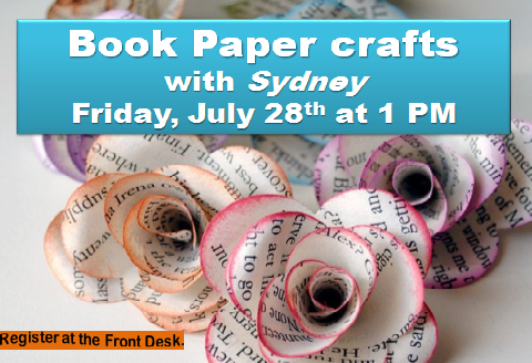 July Book Paper Crafts