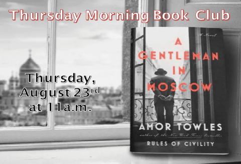 Thursday Morning August 2018 Book Club