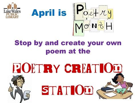 Poetry Month 19 News