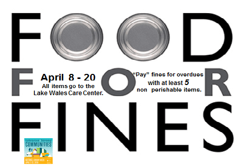 Food for fines April 2019