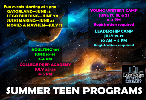Summer Teen Program