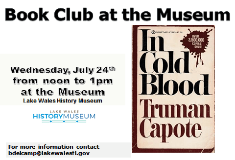 July Museum Book Club