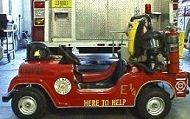 Miniature Fire Truck