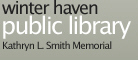 Winter Haven Public Library - Kathryn L. Smith Memorial Logo