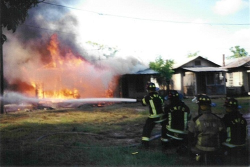 Fully Involved House