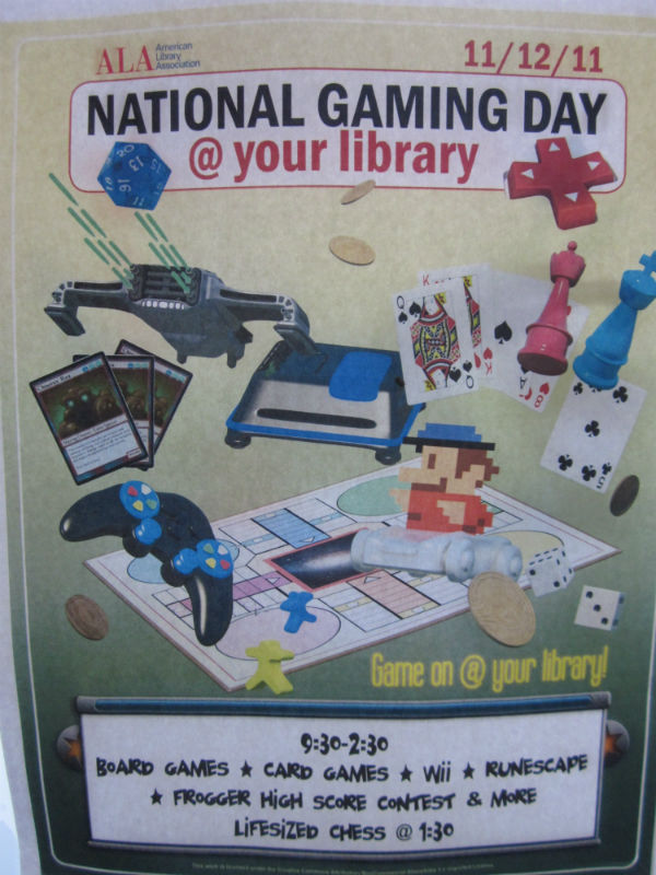 National Gaming Day Poster
