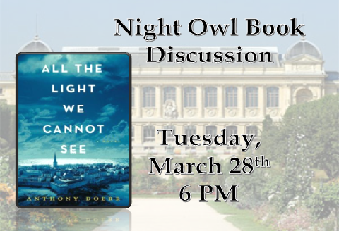 March Night Owl Book Club